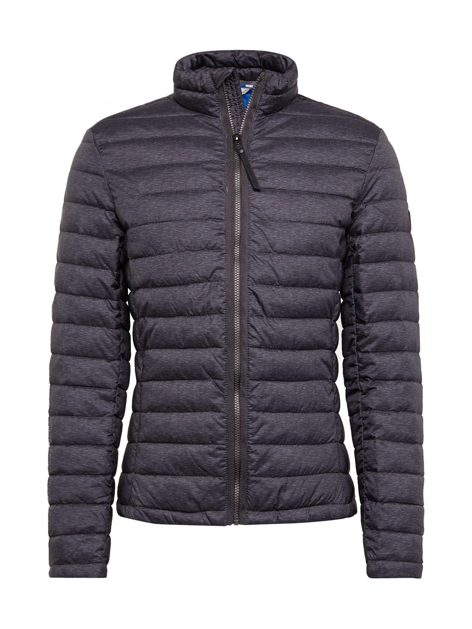 TOM TAILOR Téli dzseki 'light weight jacket'  szürke melír