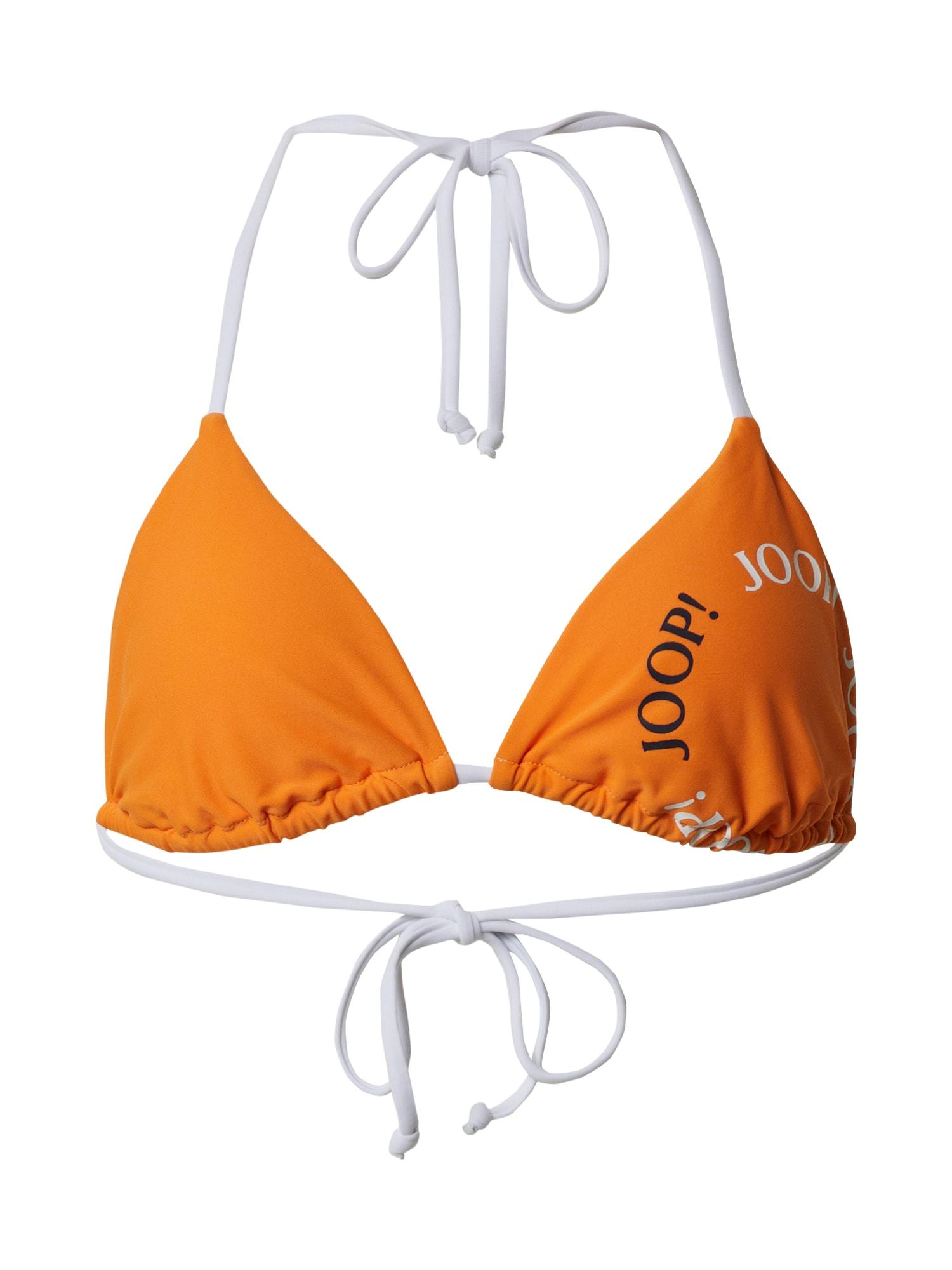 JOOP! Bodywear Bikinis 'LINOSA' smėlio / oranžinė