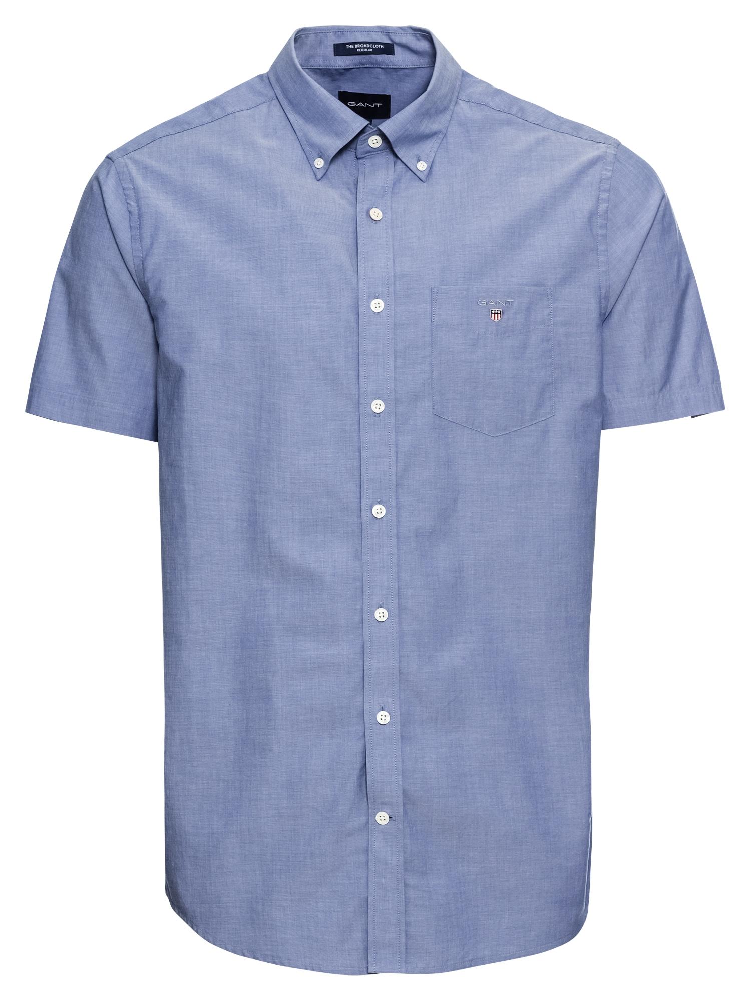 Košile THE BROADCLOTH modrá GANT