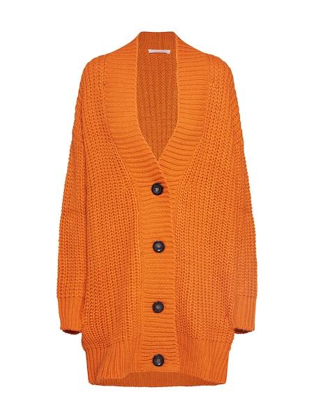 Jacken - Strickjacke 'Bebrittany' › BE EDGY › orange  - Onlineshop ABOUT YOU