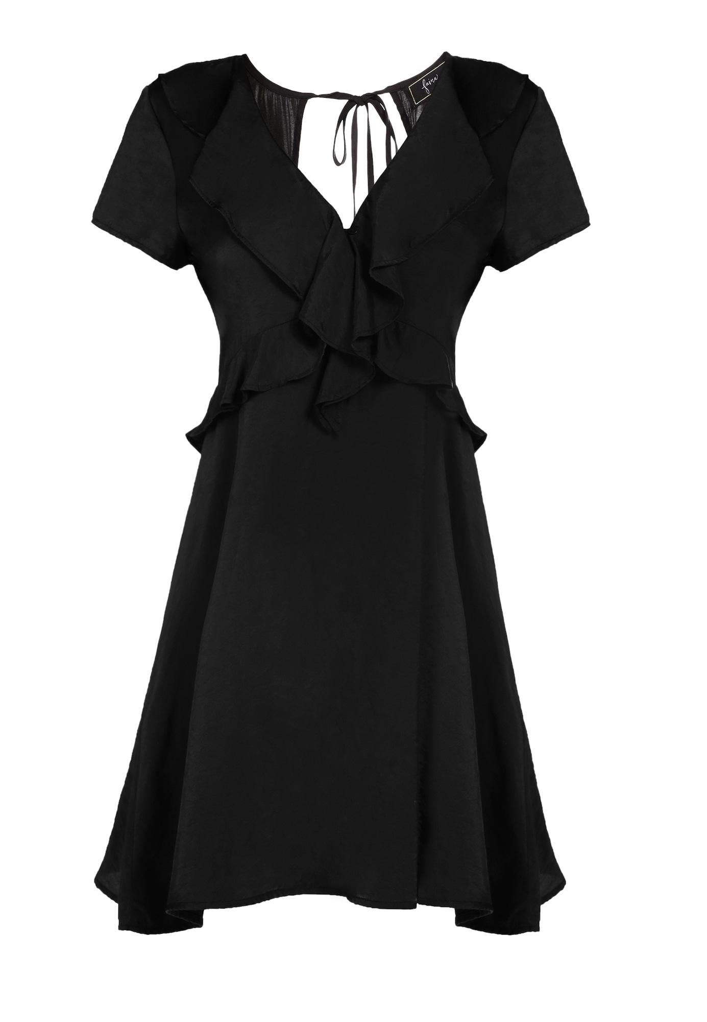faina Vasarinė suknelė juoda