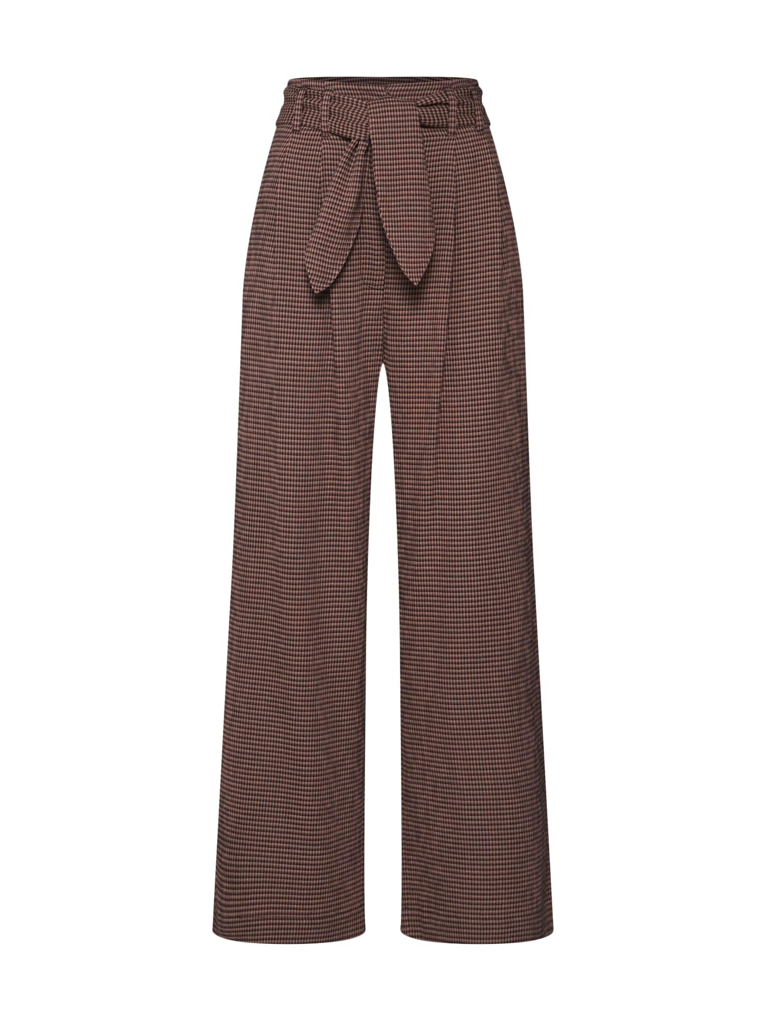 Samsoe Samsoe Klostuotos kelnės 'Nellie 11238' ruda
