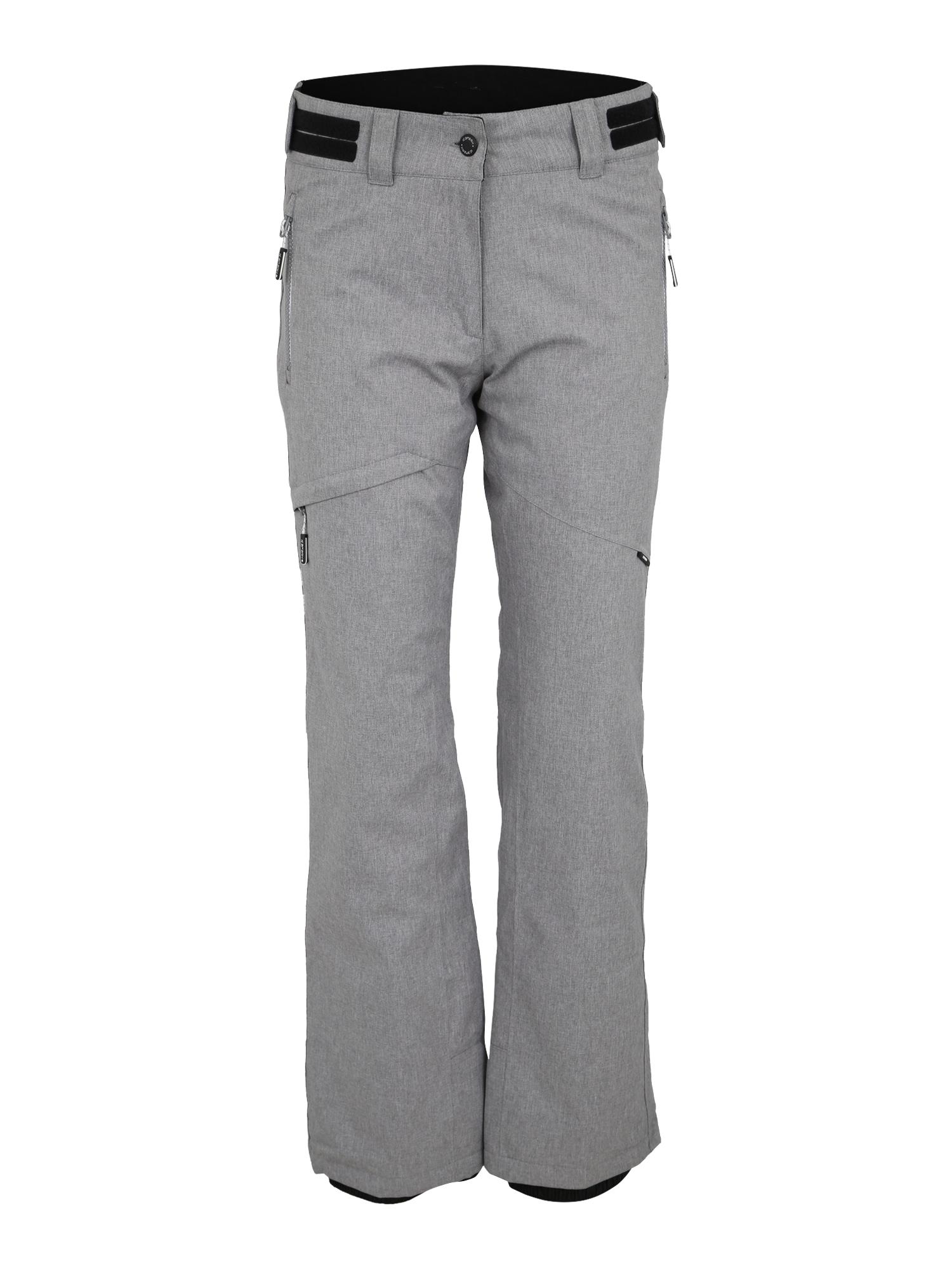 Outdoorové kalhoty KARLA šedý melír ICEPEAK