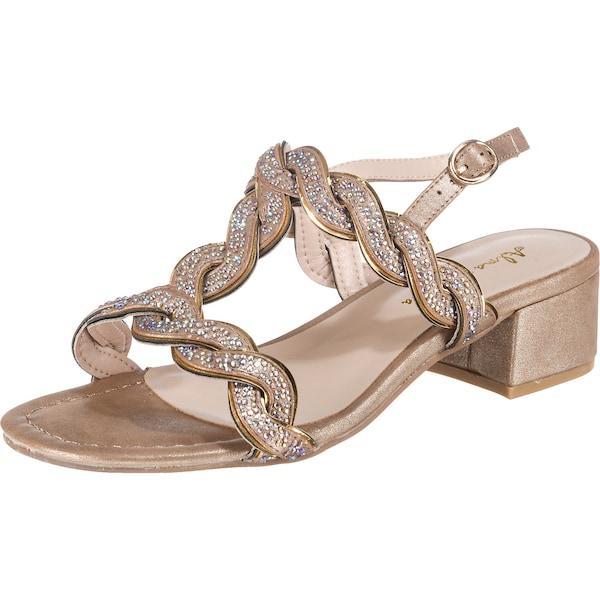 Sandalen für Frauen - Alma En Pena Sandaletten gold  - Onlineshop ABOUT YOU
