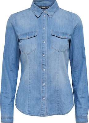 ONLY Jeansbluse 'Onlrock'