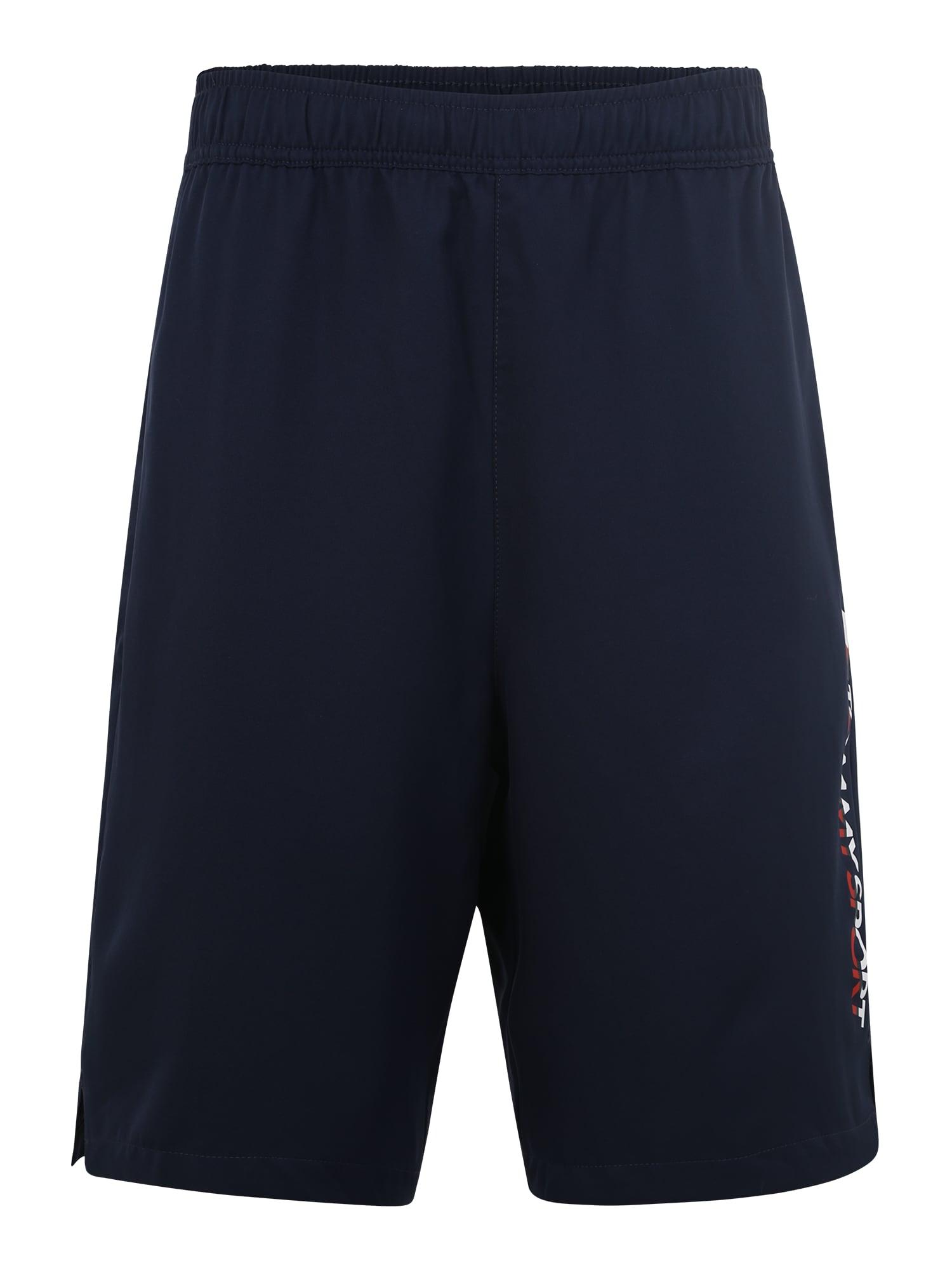 Sportovní kalhoty Woven námořnická modř Tommy Sport