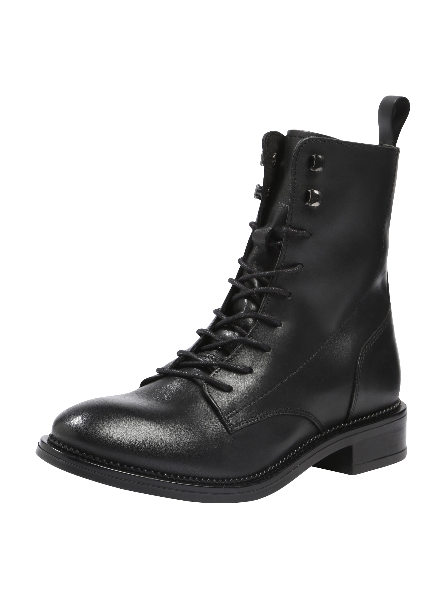 ABOUT YOU Suvarstomieji kulkšnis dengiantys batai 'MAXX' juoda
