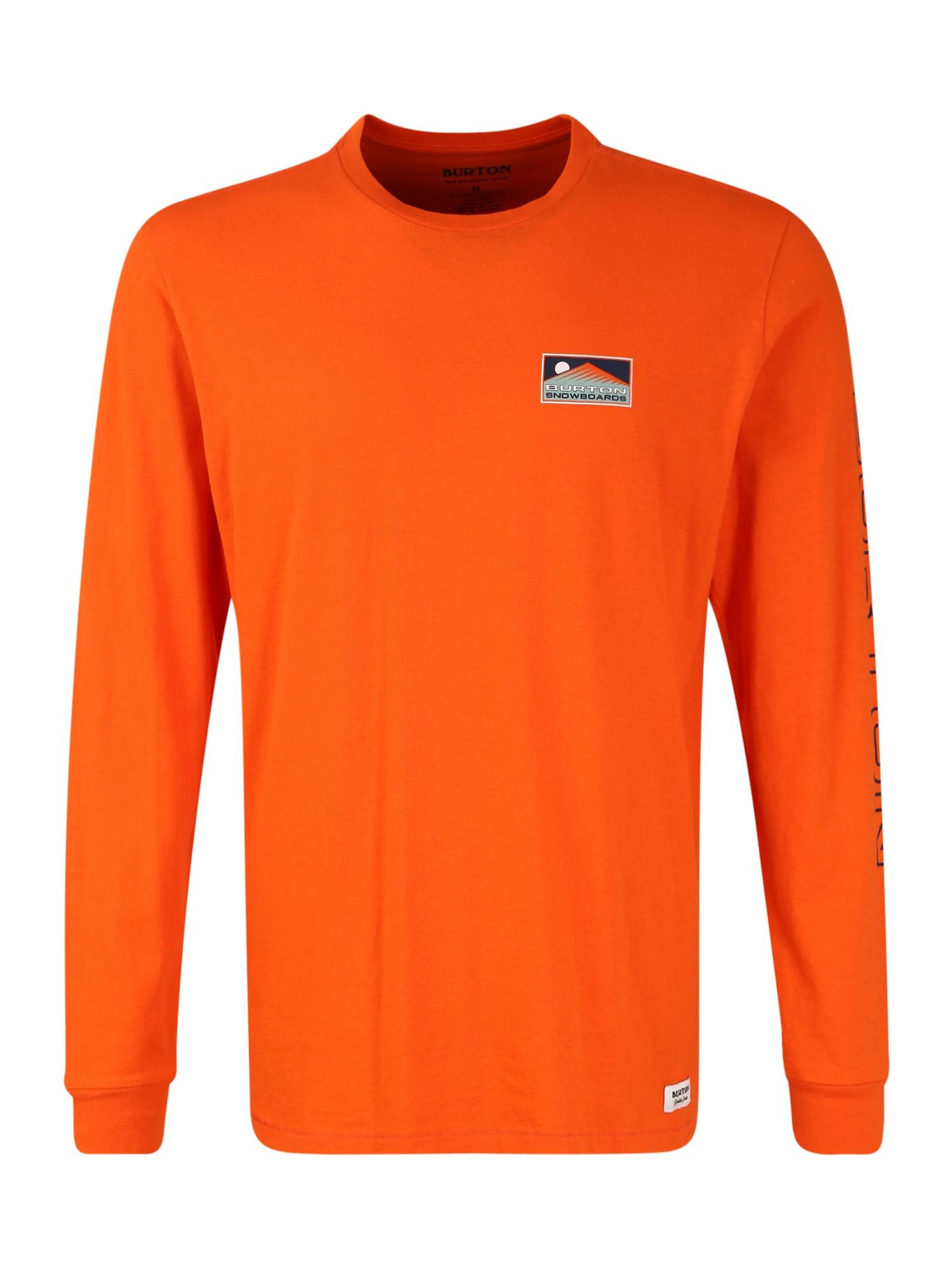 BURTON Sportiniai marškinėliai oranžinė