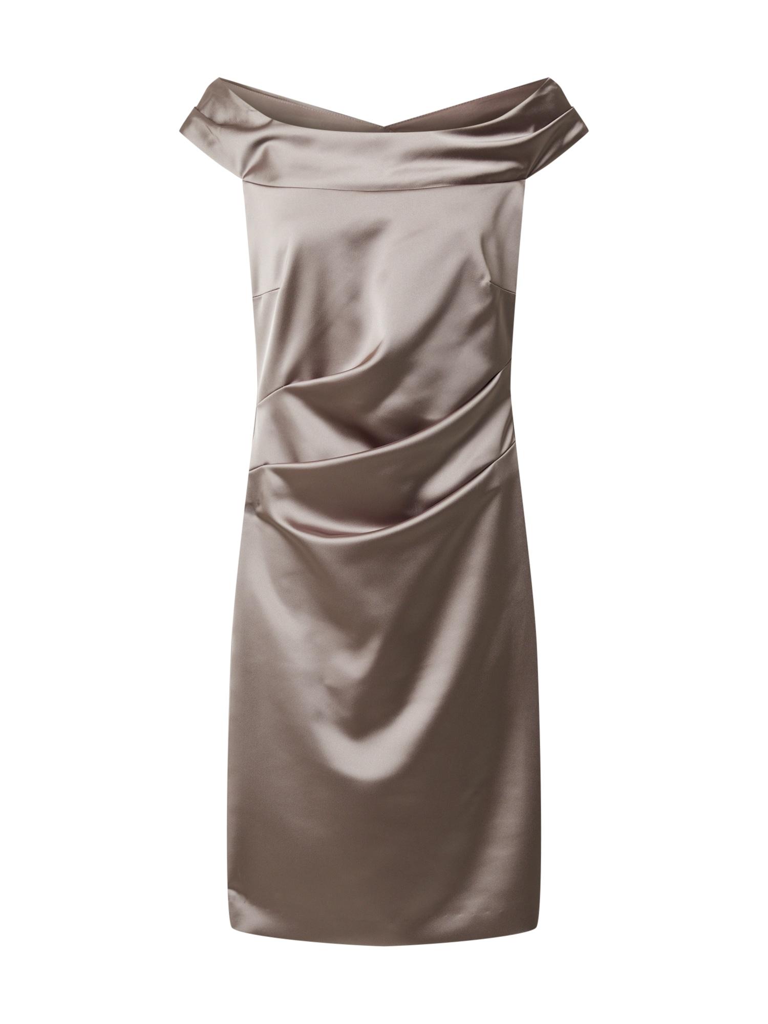Vera Mont Kokteilinė suknelė rausvai pilka