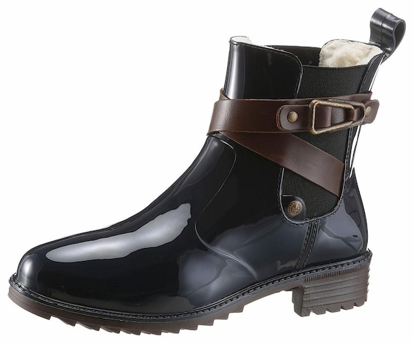 Stiefel für Frauen - RIEKER Gummistiefel navy  - Onlineshop ABOUT YOU