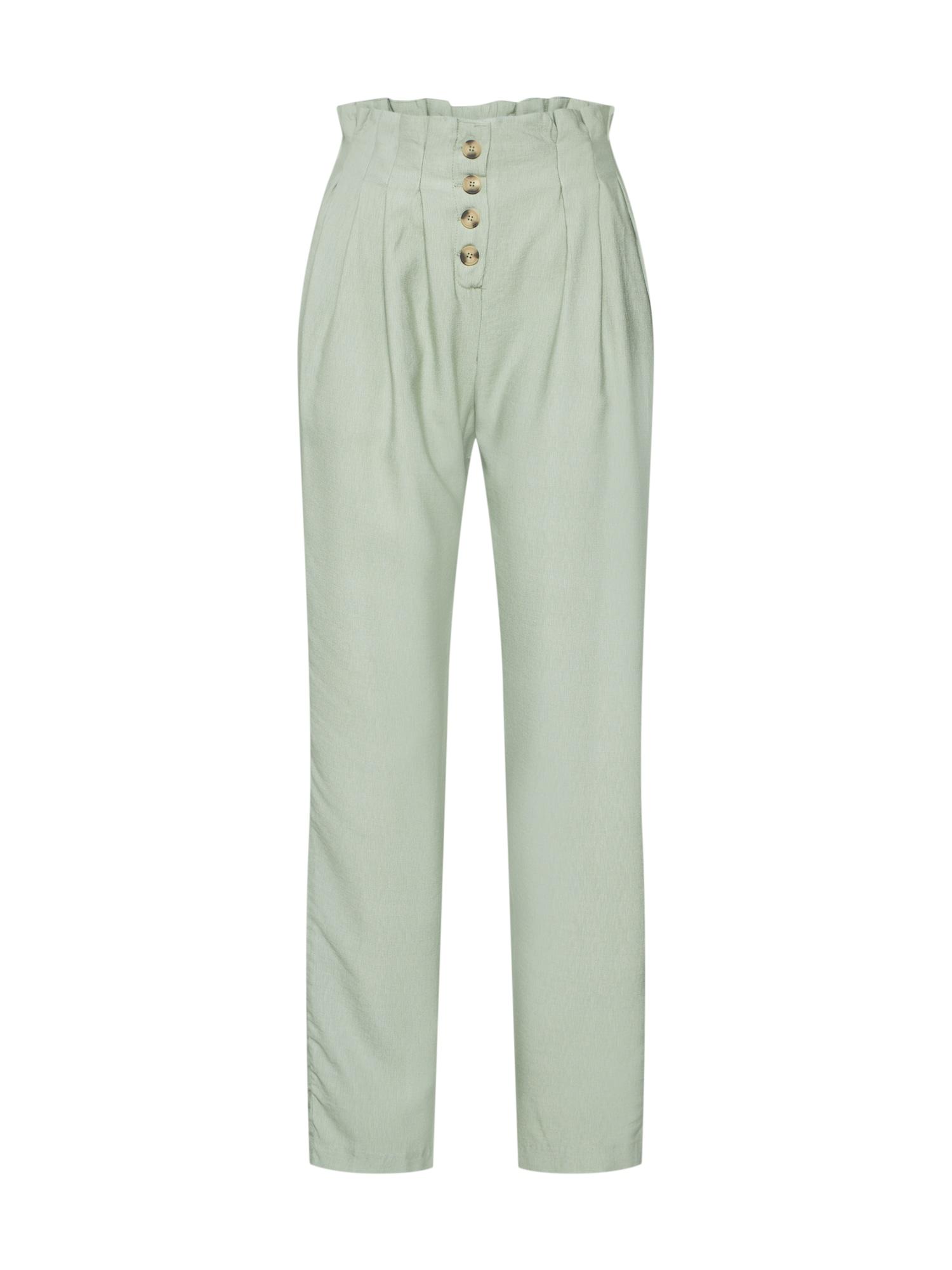 Kalhoty se sklady v pase Taila mátová Sparkz