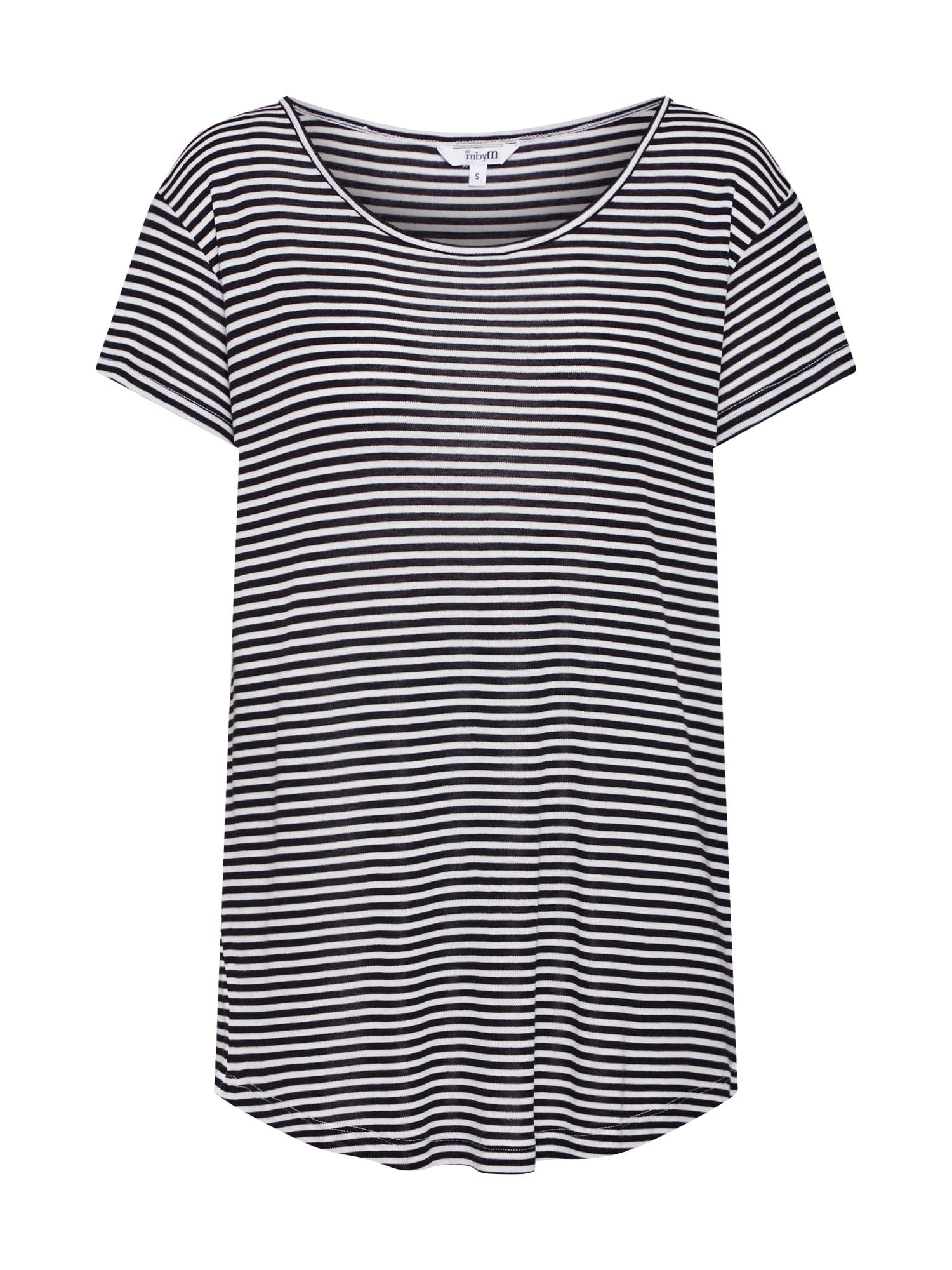 Tričko Lucianna krémová černá Mbym