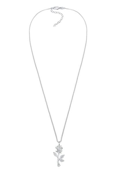 Ketten für Frauen - ELLI Halskette 'Rose' silber  - Onlineshop ABOUT YOU