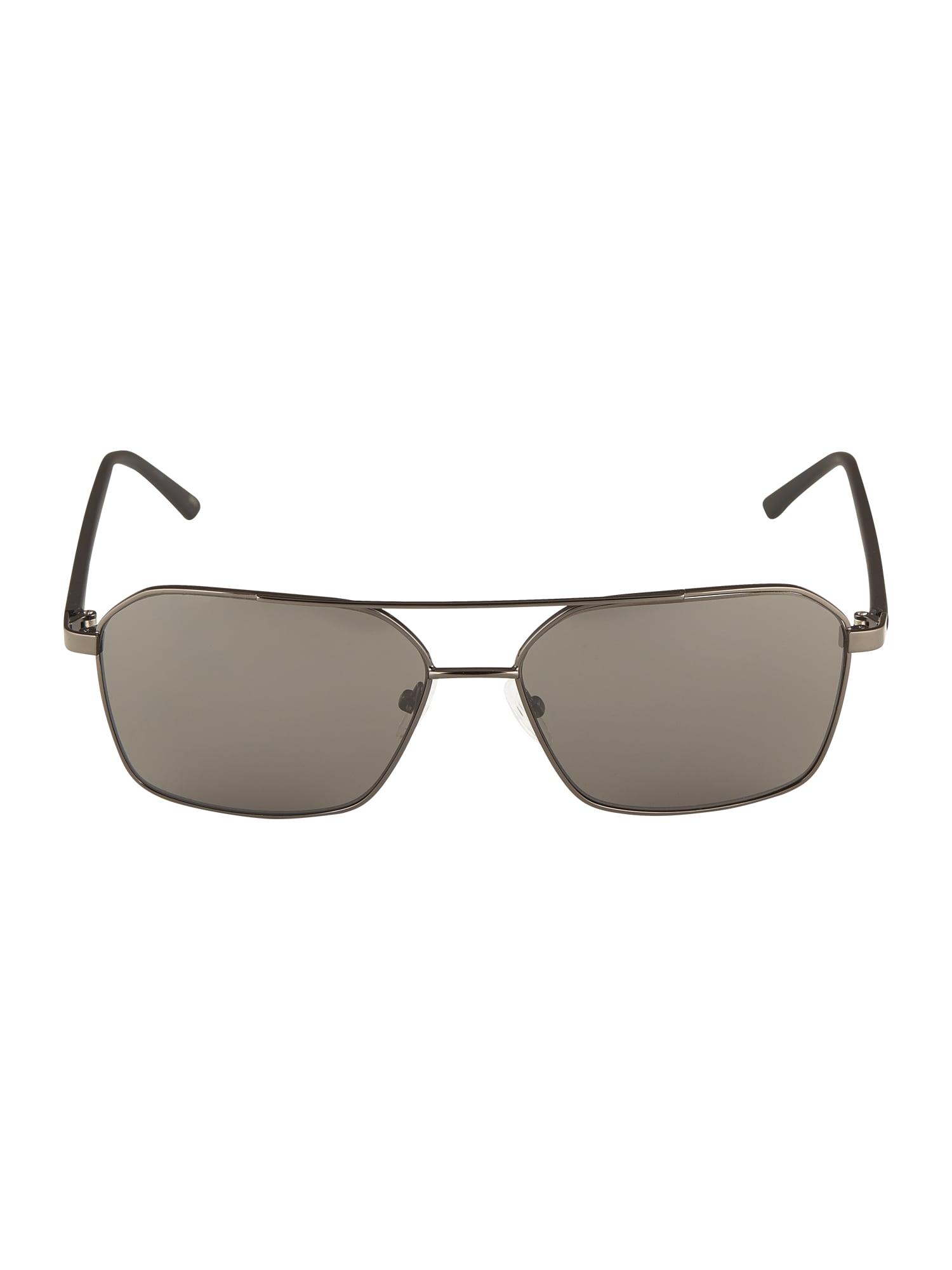 Calvin Klein Slnečné okuliare 'CK20300S'  striebornošedá
