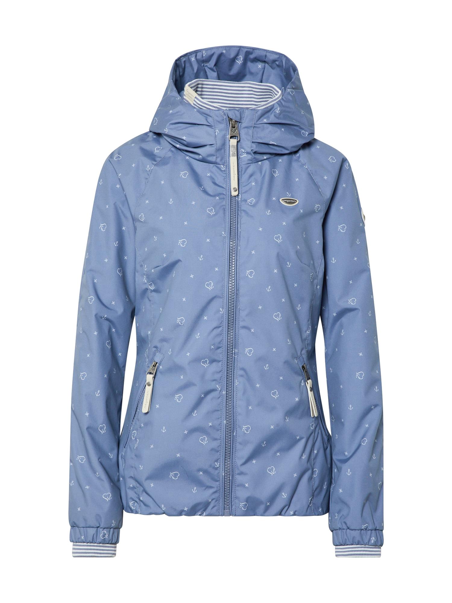 Ragwear Prechodná bunda 'DIZZIE MARINA'  modrofialová