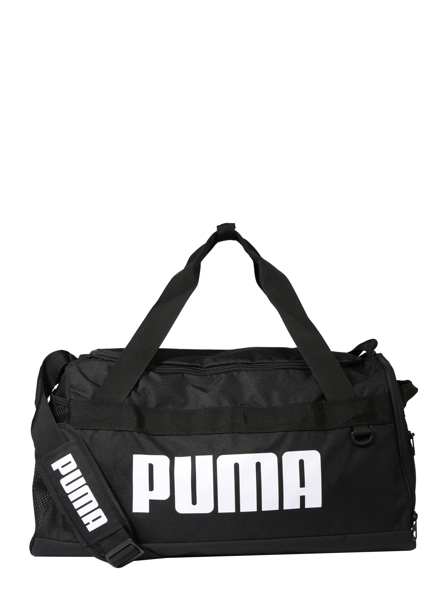 Sportovní taška Challenger Duffel černá bílá PUMA