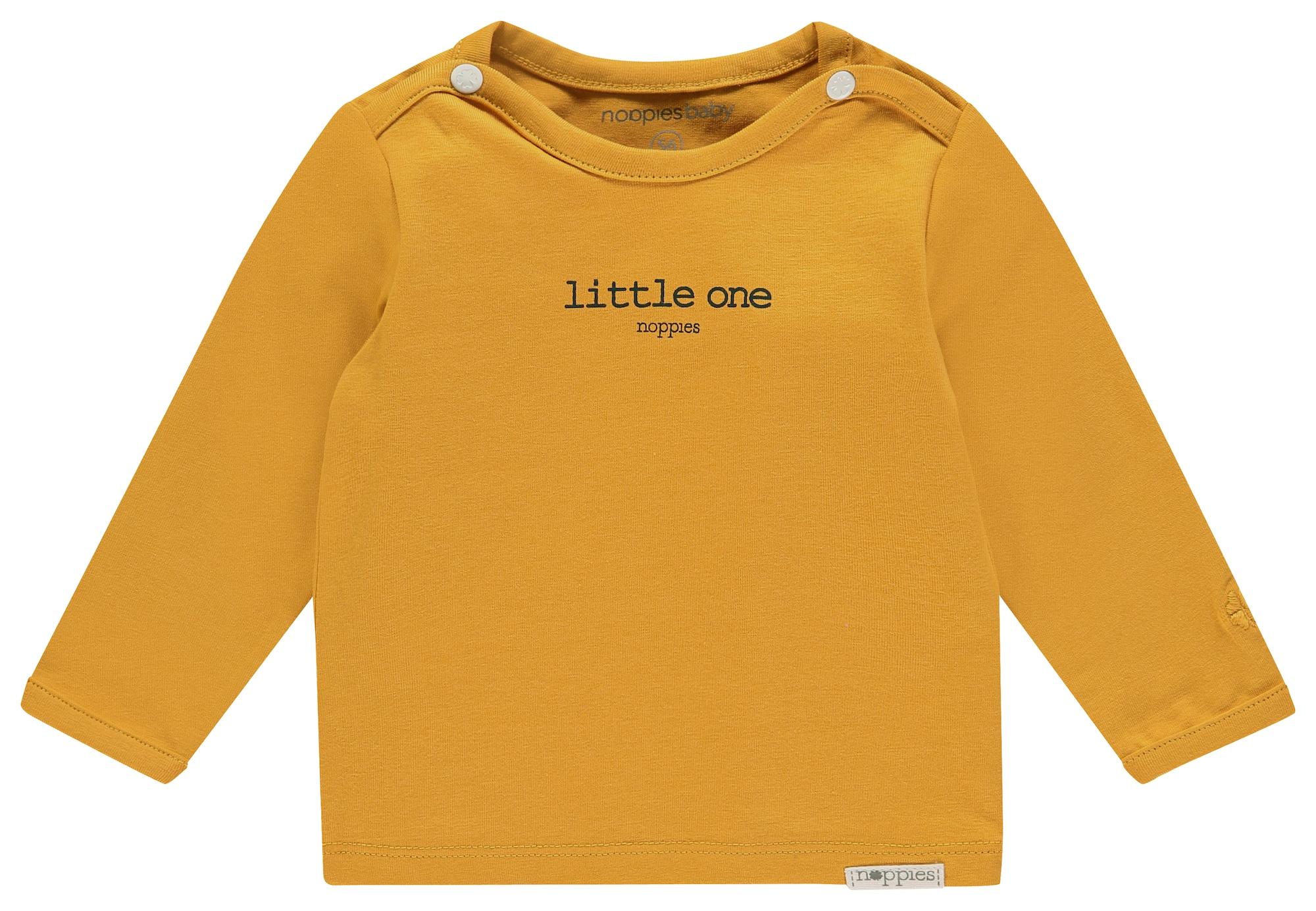 Noppies Marškinėliai 'Hester' juoda / medaus spalva