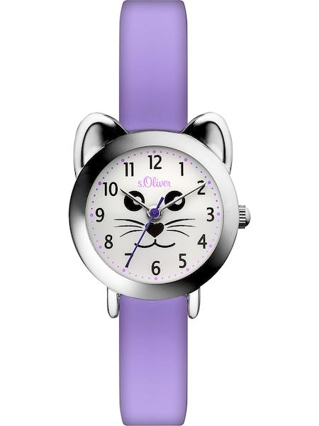 Uhren für Frauen - S.Oliver Uhr helllila  - Onlineshop ABOUT YOU
