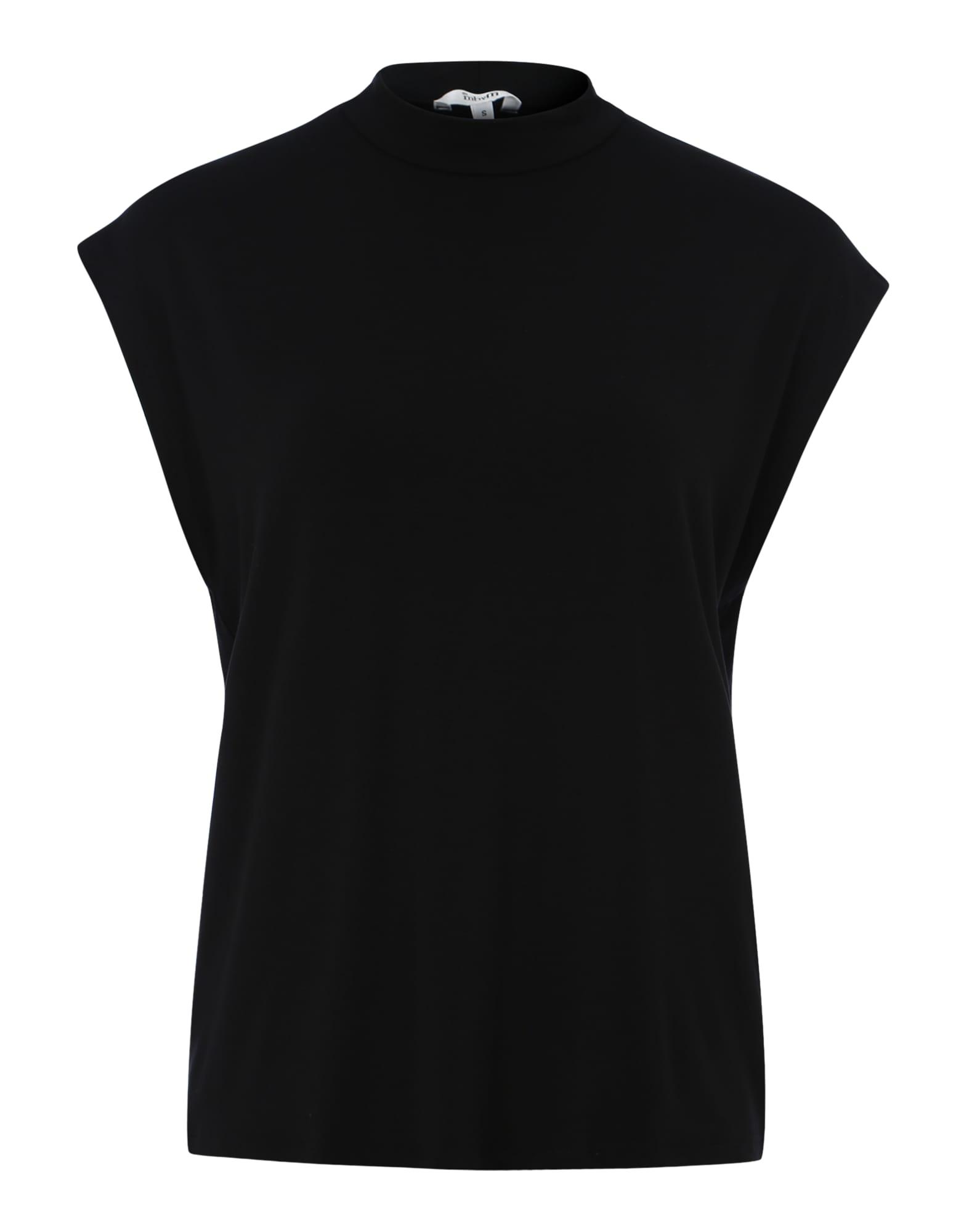 Oversized tričko Loui černá Mbym