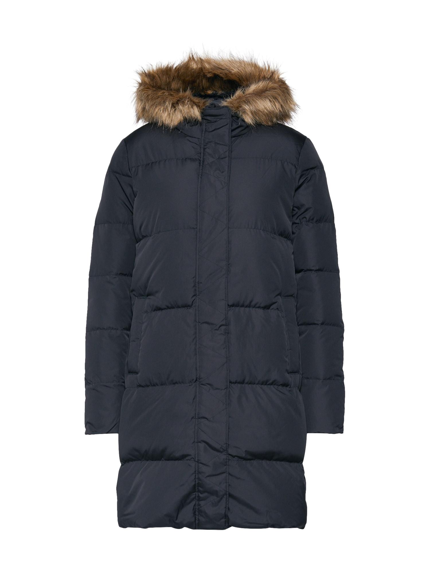 GAP Žieminis paltas 'V-LONG DOWN PUFFER' juoda