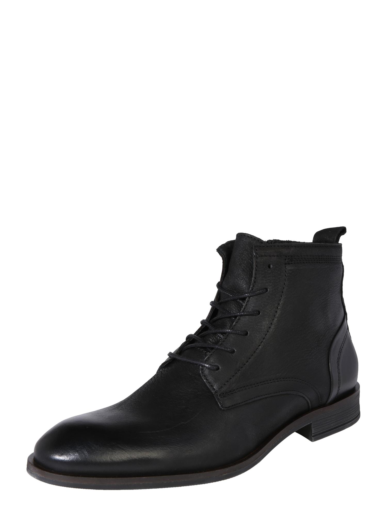 Bianco Auliniai batai su raišteliais juoda