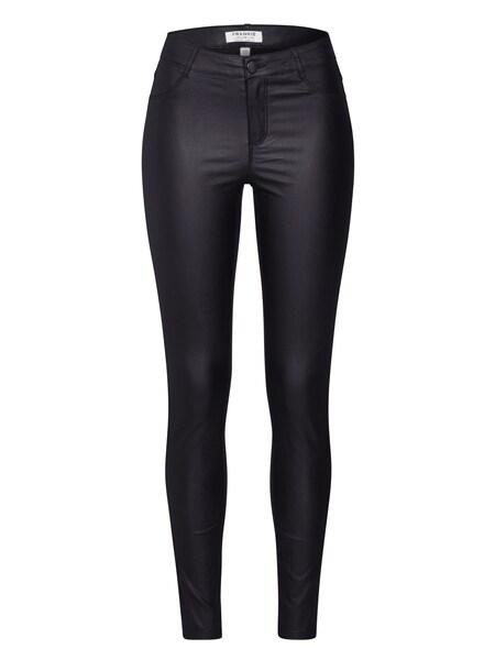 Hosen - Damen Jeans 'COATED FRANKIE REGULAR LENGTH' › Dorothy Perkins › schwarz  - Onlineshop ABOUT YOU
