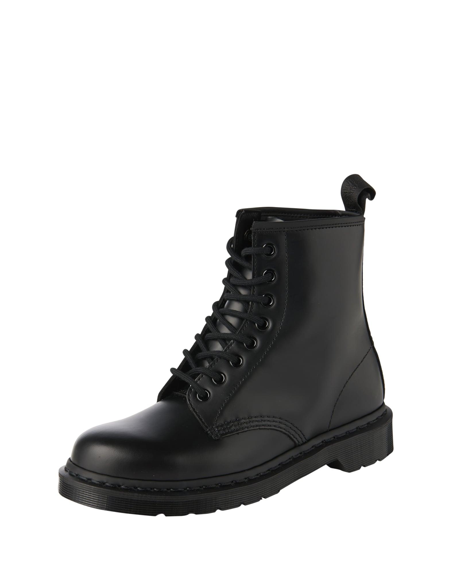 Dr. Martens Auliniai batai su raišteliais juoda