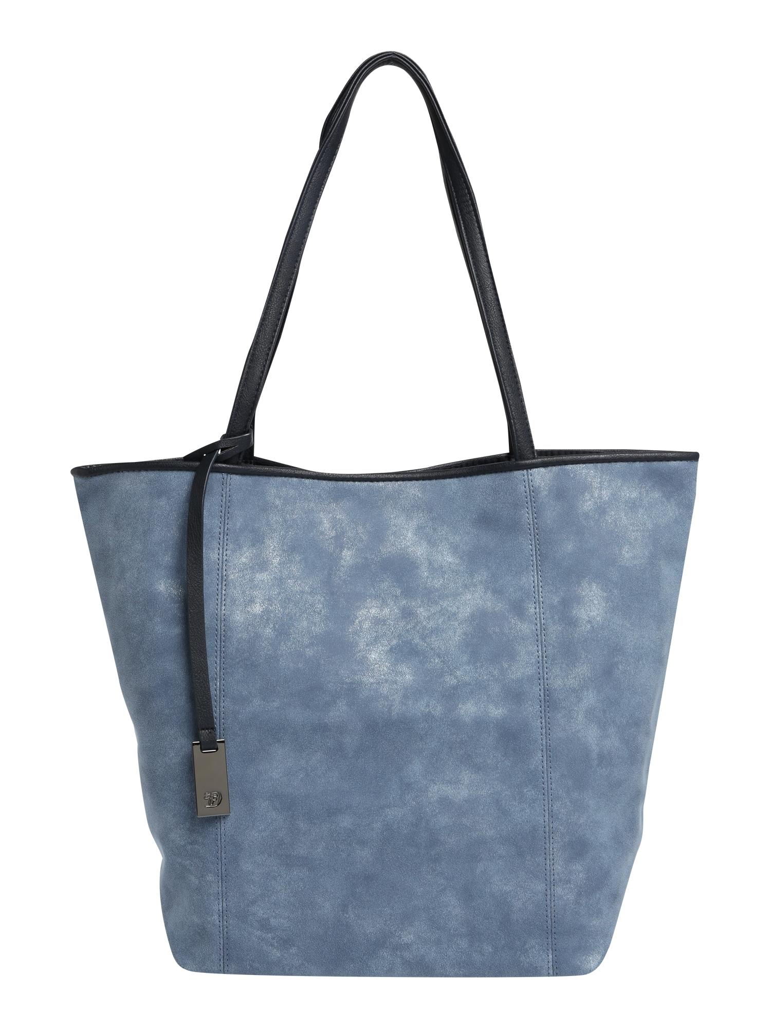 Nákupní taška MILA modrá TOM TAILOR DENIM