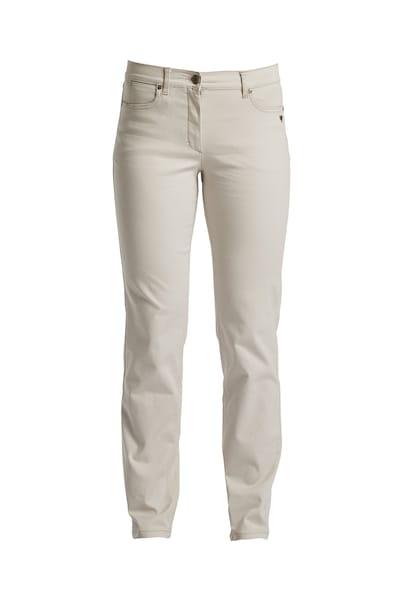 Hosen für Frauen - LauRie Stoffhose 'Charlotte' im 5 Pocket Style beige  - Onlineshop ABOUT YOU
