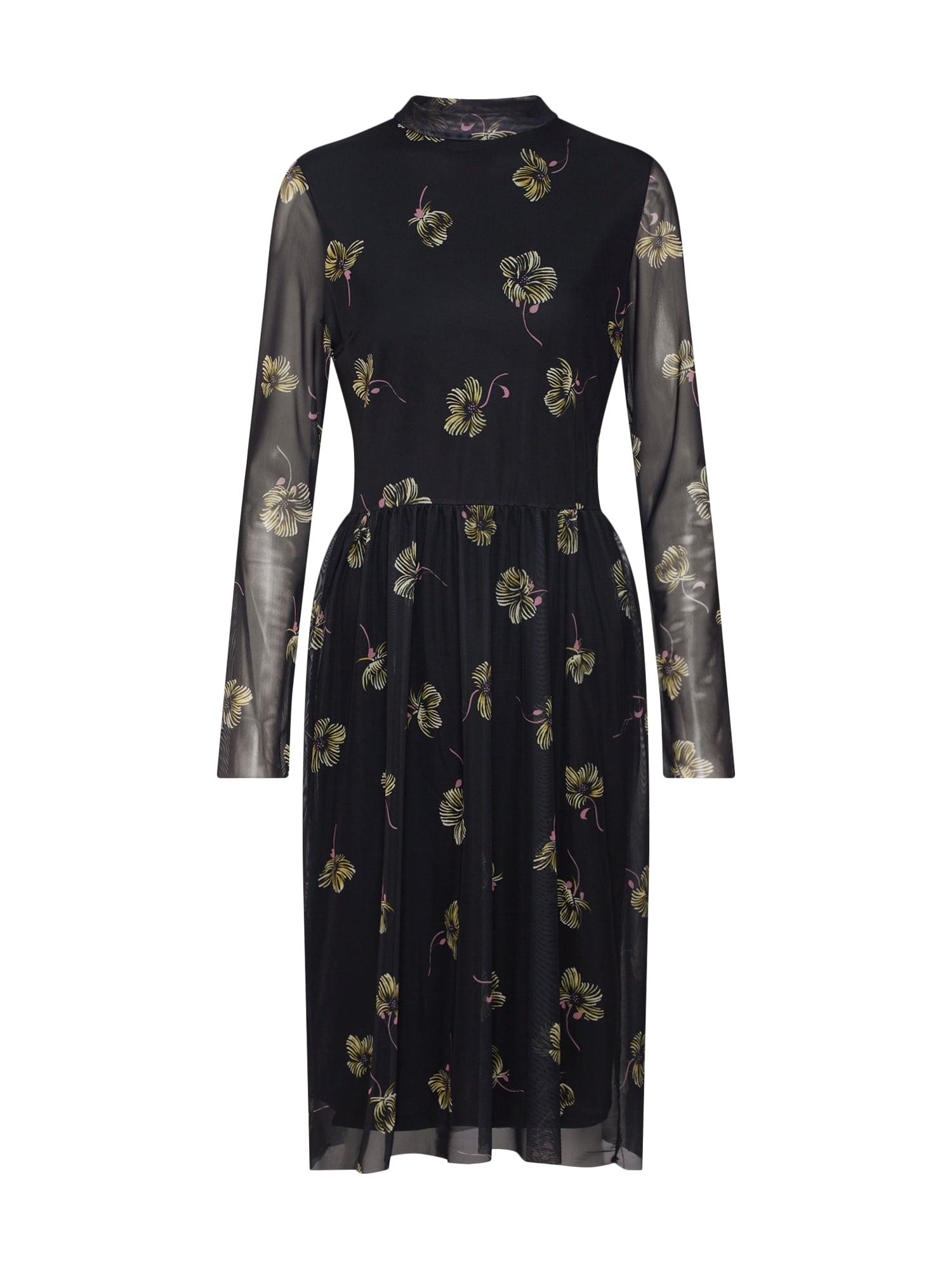 Letní šaty Sonnet Dress LS černá SOAKED IN LUXURY