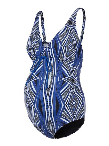 Bademode - Badeanzug › Mamalicious › schwarz weiß blau  - Onlineshop ABOUT YOU