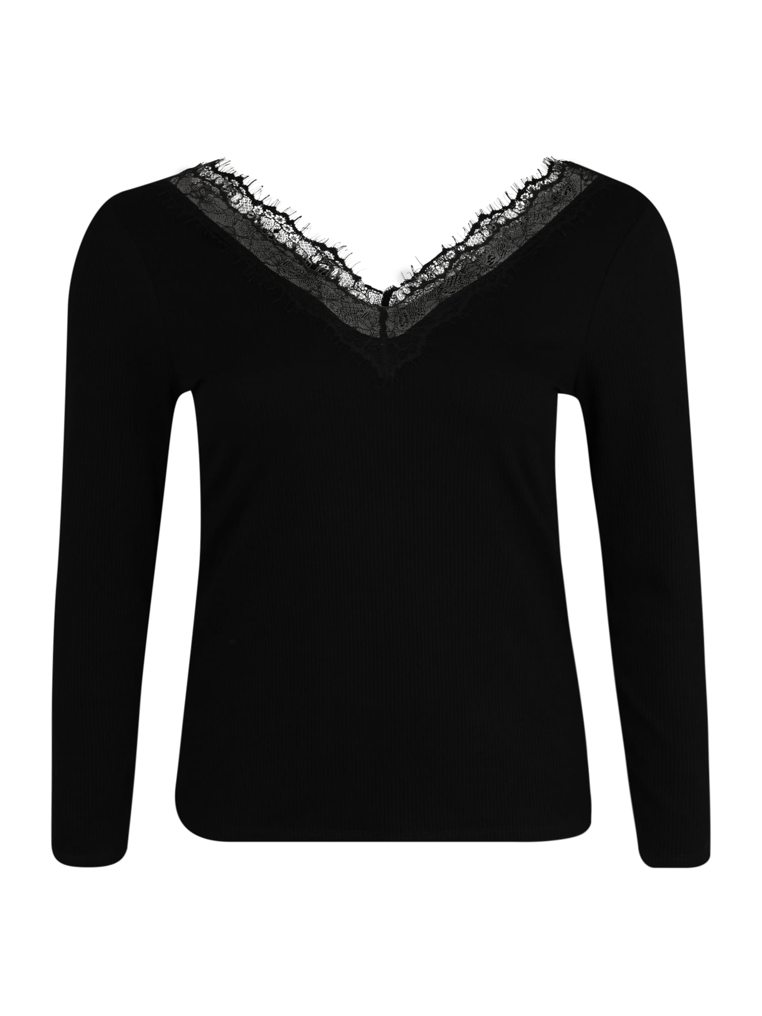 ABOUT YOU Curvy Marškinėliai 'Maithe Shirt' juoda