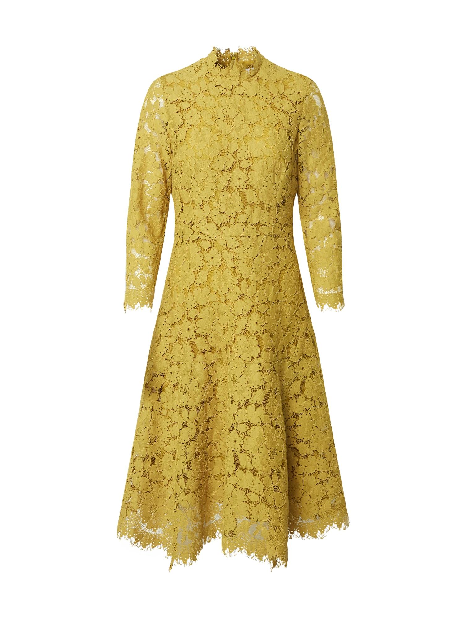 IVY & OAK Kokteilinė suknelė garstyčių spalva