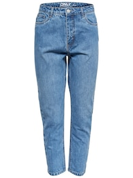 ONLY Damen onlKELLY MOM DNM JEANSBj10541 Jeans blau | 05713617643663