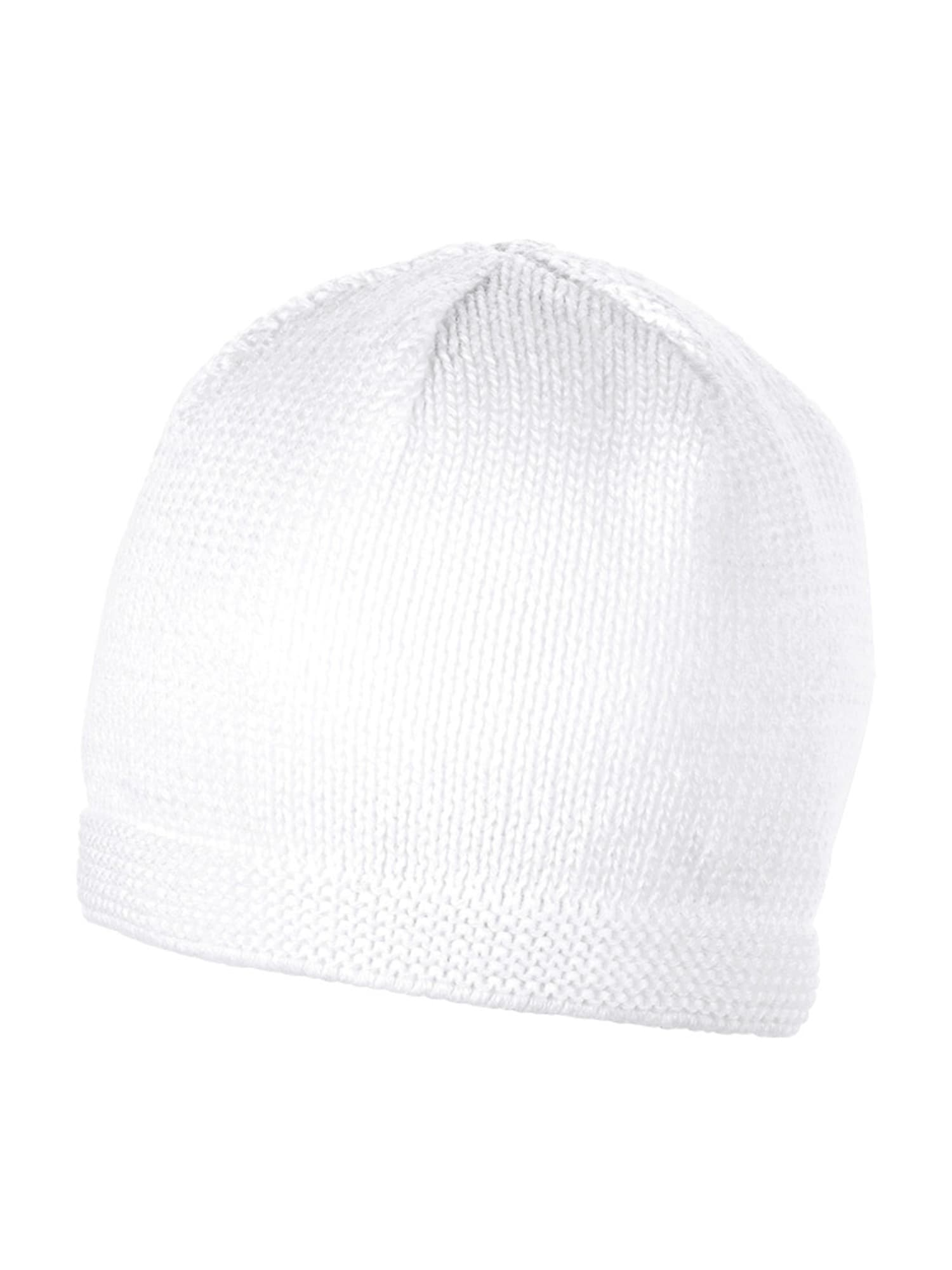 STERNTALER Megzta kepurė balta