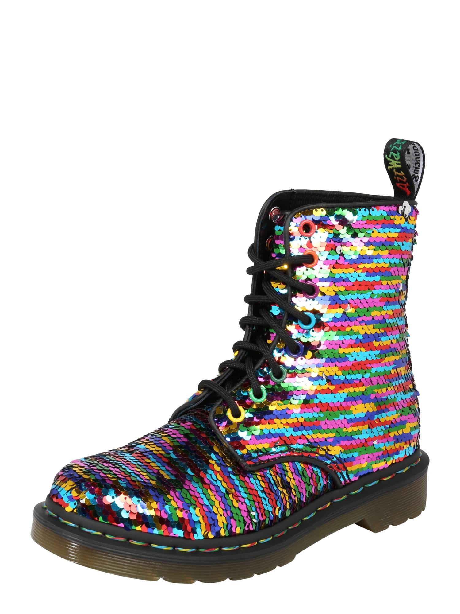 Šněrovací boty 8 Eye Boot 1460 mix barev Dr. Martens