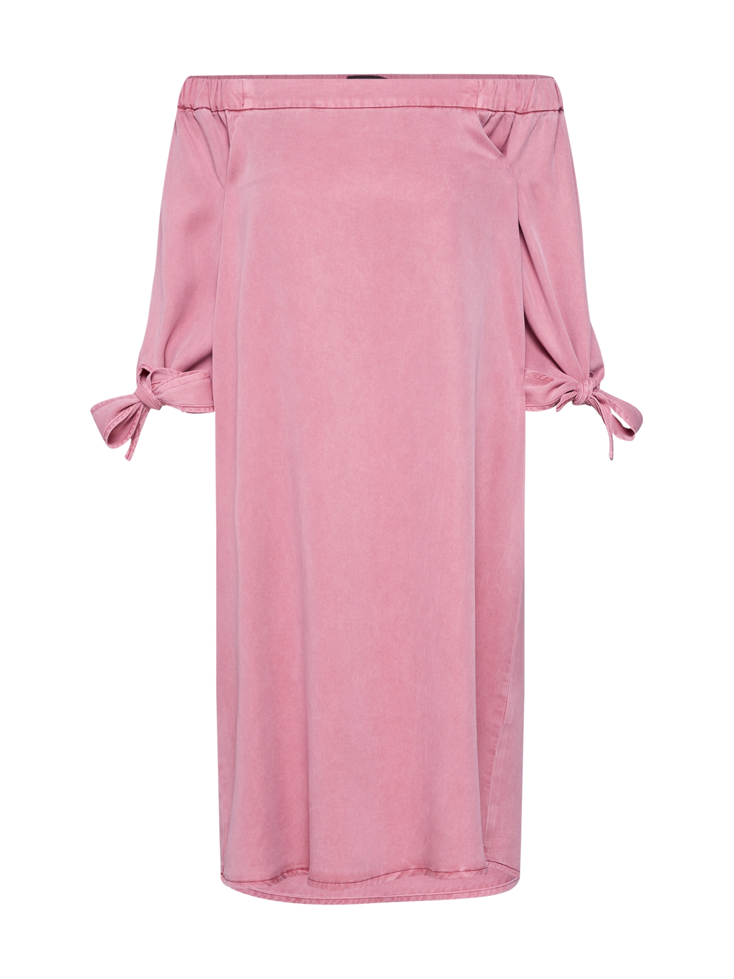VERO MODA Šaty 'VMMIA OFF SHOULDER TIE SLEEVE DRESS'  pink