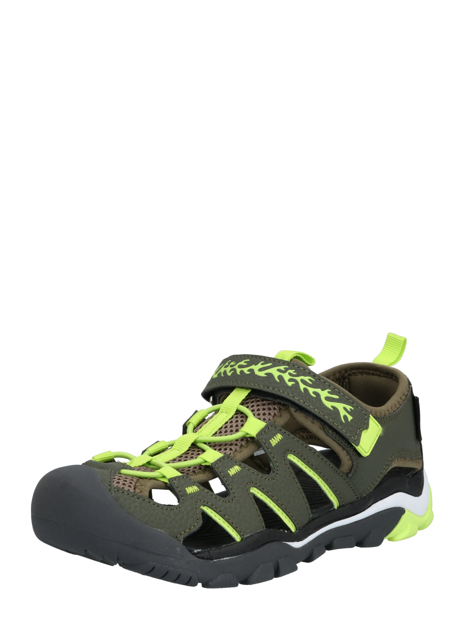 Dockers by Gerli Atviri batai rusvai žalia / žalia / žaliosios citrinos spalva