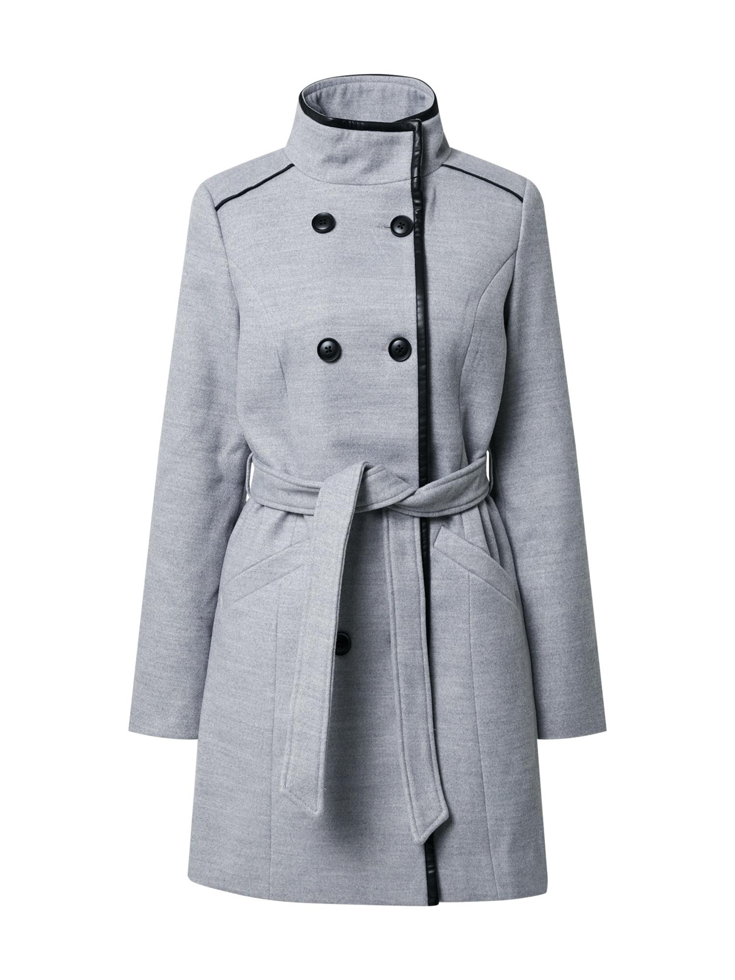 VERO MODA Přechodný kabát 'Veronica'  šedá
