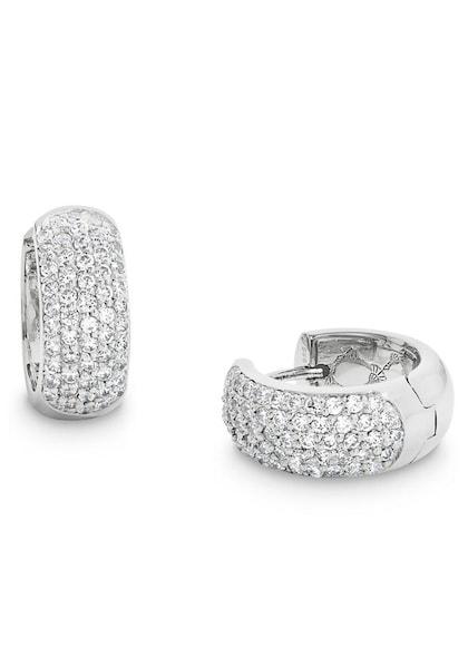 Ohrringe für Frauen - JOOP! Creolen '2023540' silber  - Onlineshop ABOUT YOU