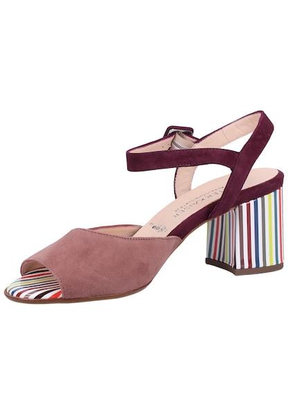Sandalen für Frauen - PETER KAISER Sandalen mischfarben weinrot pastellrot  - Onlineshop ABOUT YOU