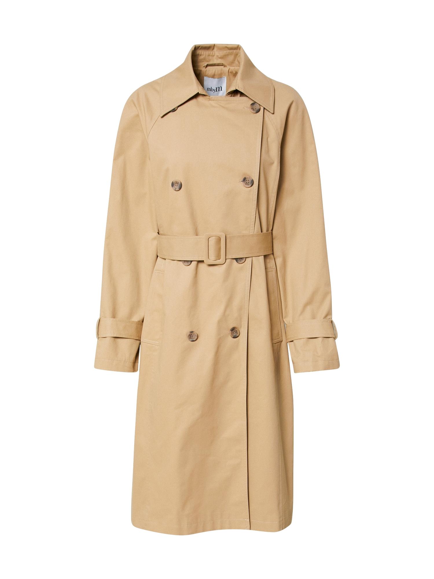 mbym Rudeninis-žieminis paltas 'Sage' smėlio