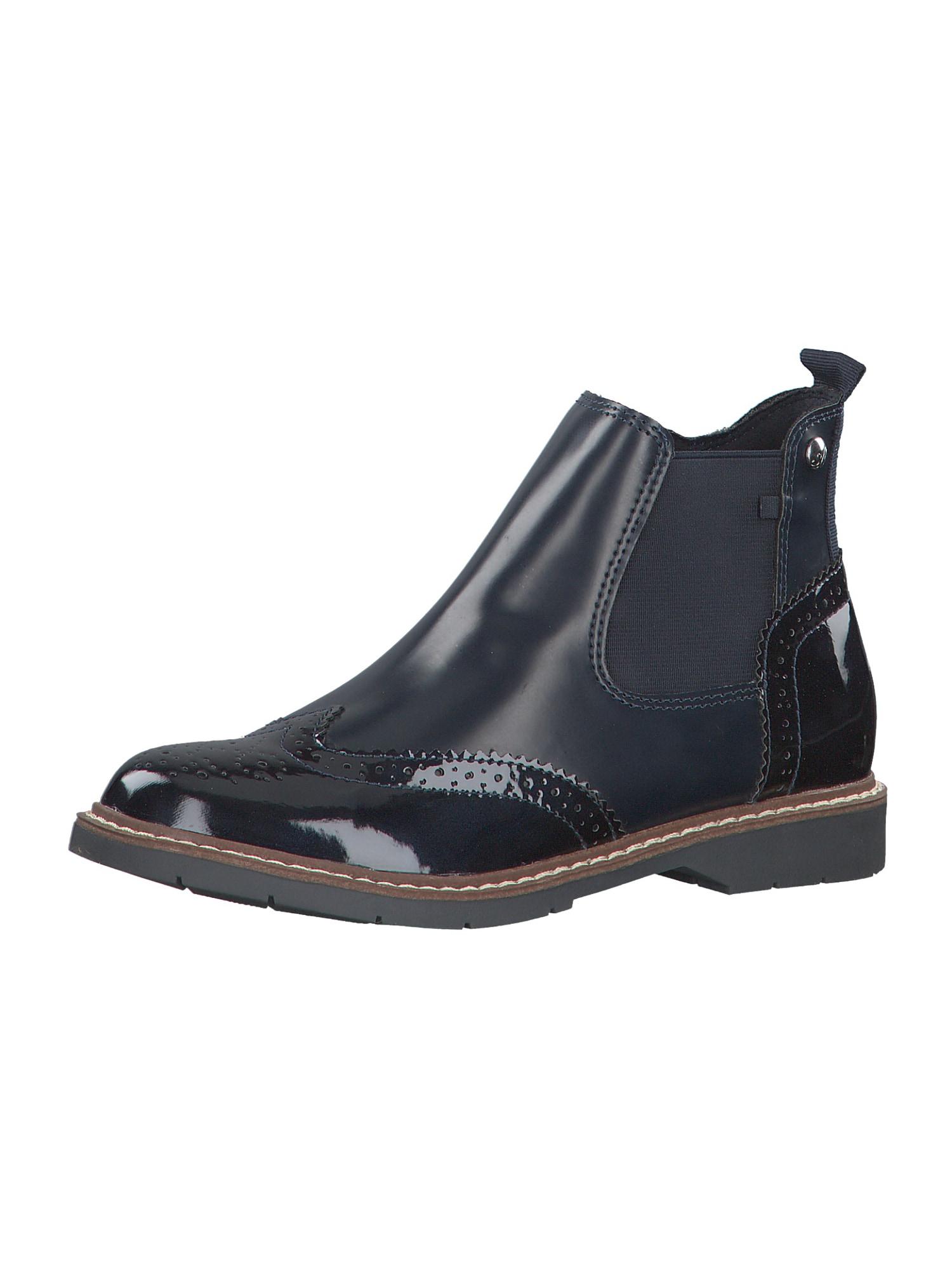 s.Oliver Chelsea boty  námořnická modř