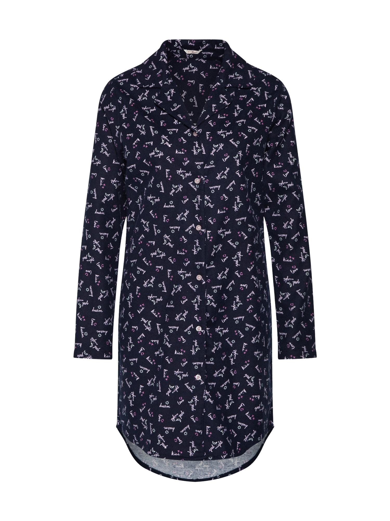 Noční košilka DELPHIE CAS NW námořnická modř ESPRIT