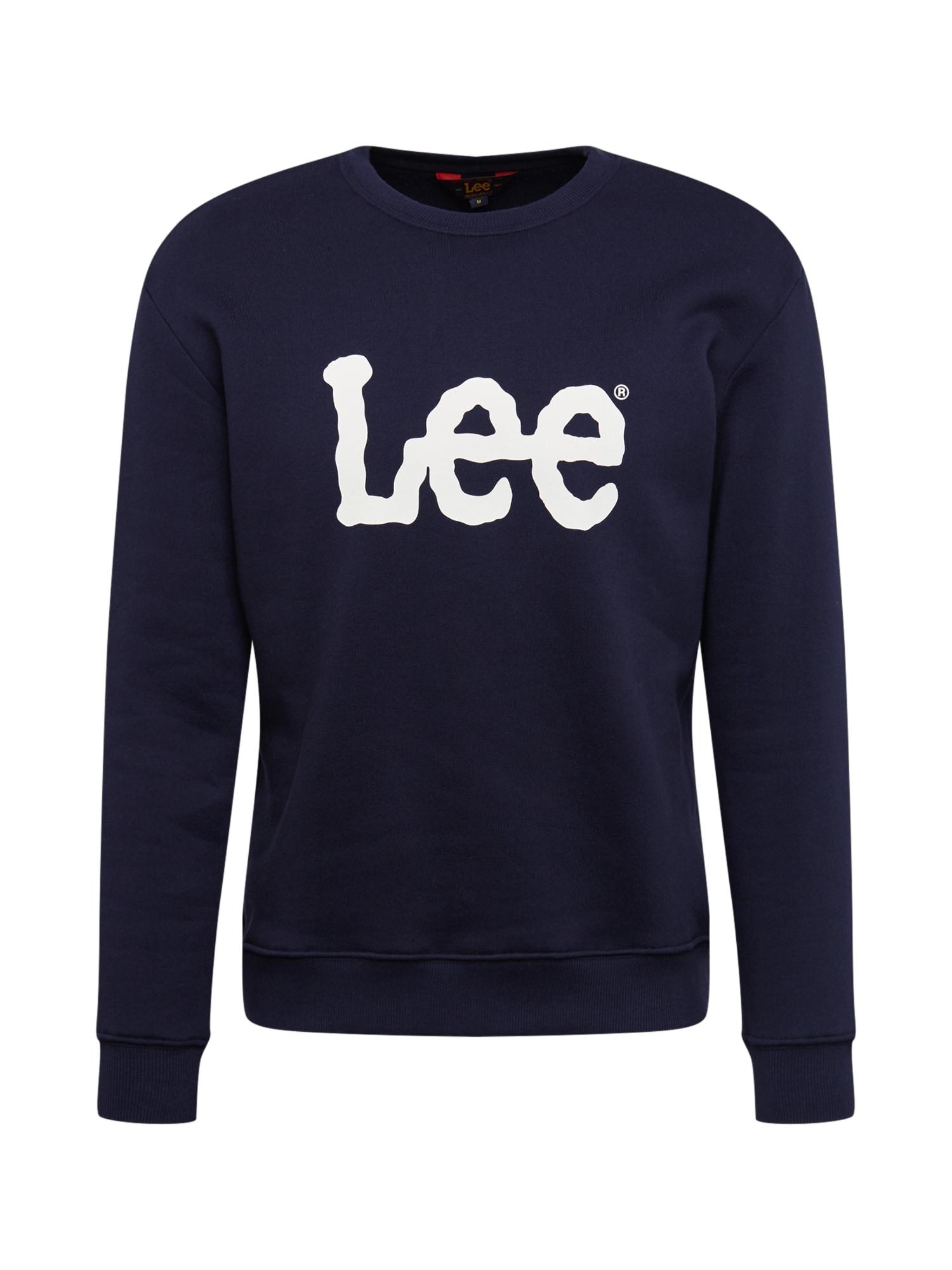 Lee Mikina  biela / čierna