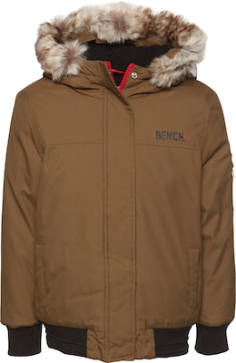 BENCH Bomberjacke 'HOODED FUR BOMBER'