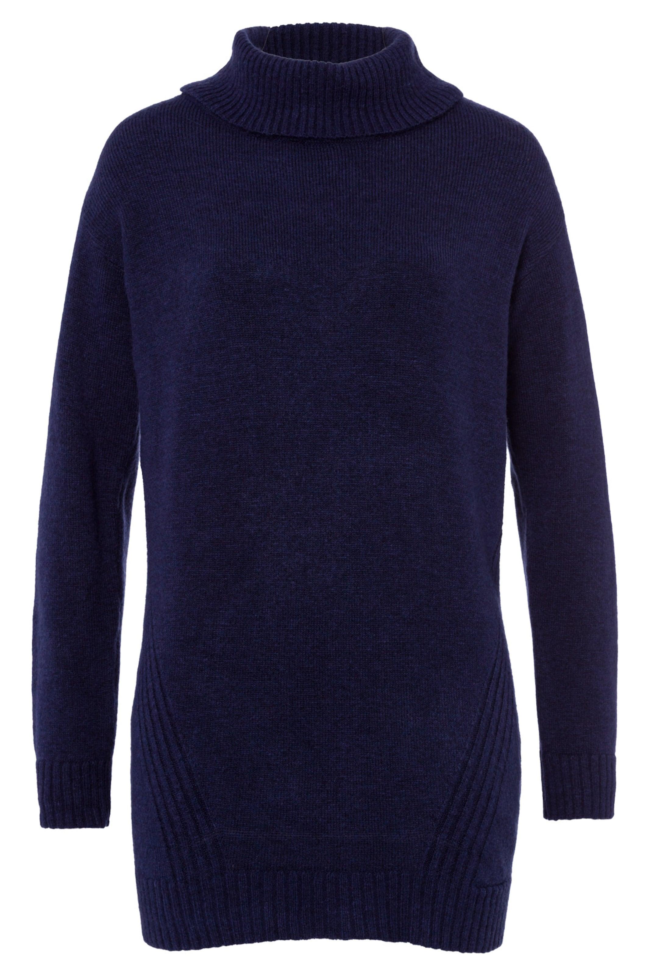 Damen MORE & MORE Pullover blau, blau,  grau | 04031663746468