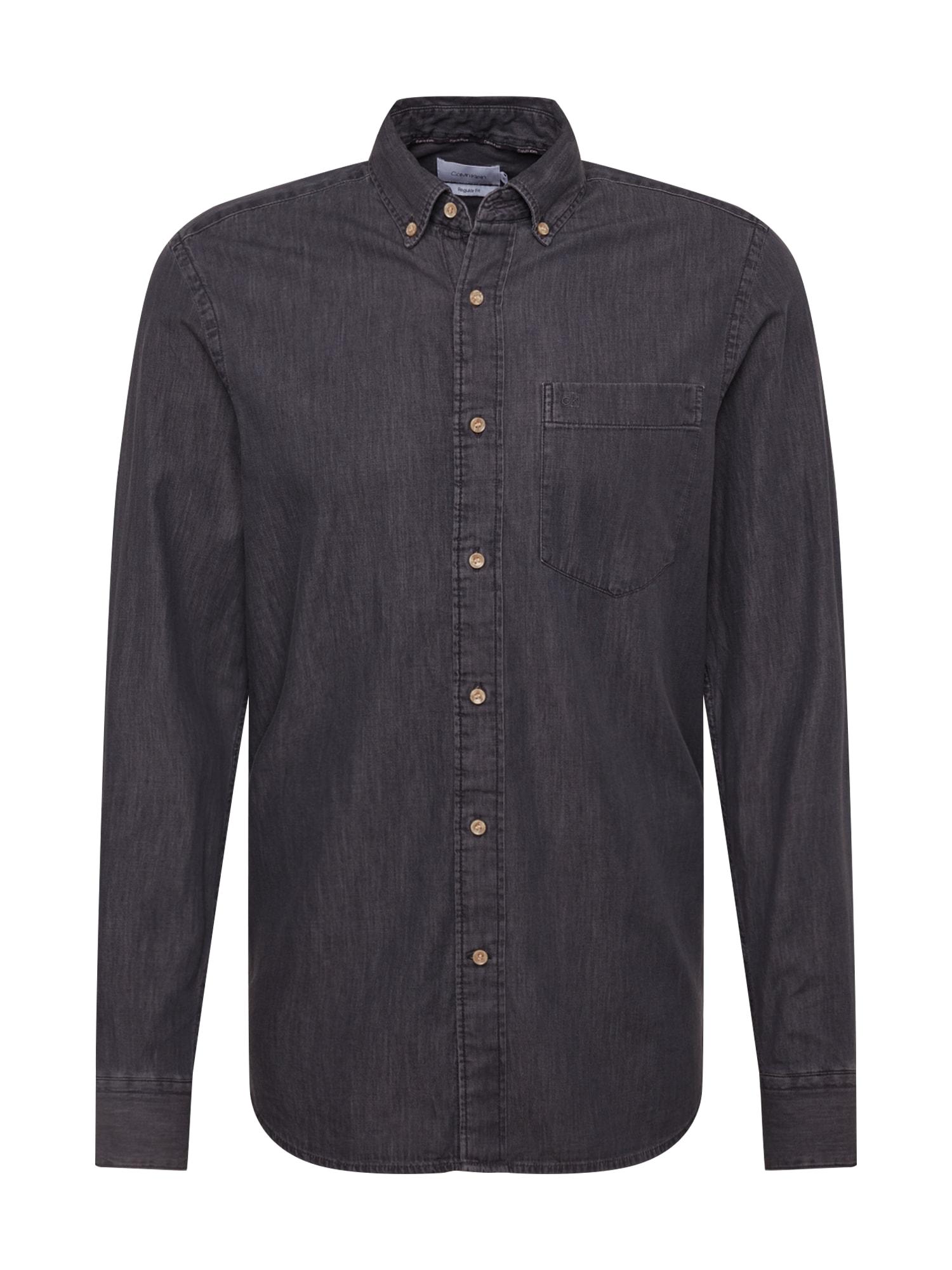 Calvin Klein Dalykiniai marškiniai pilka