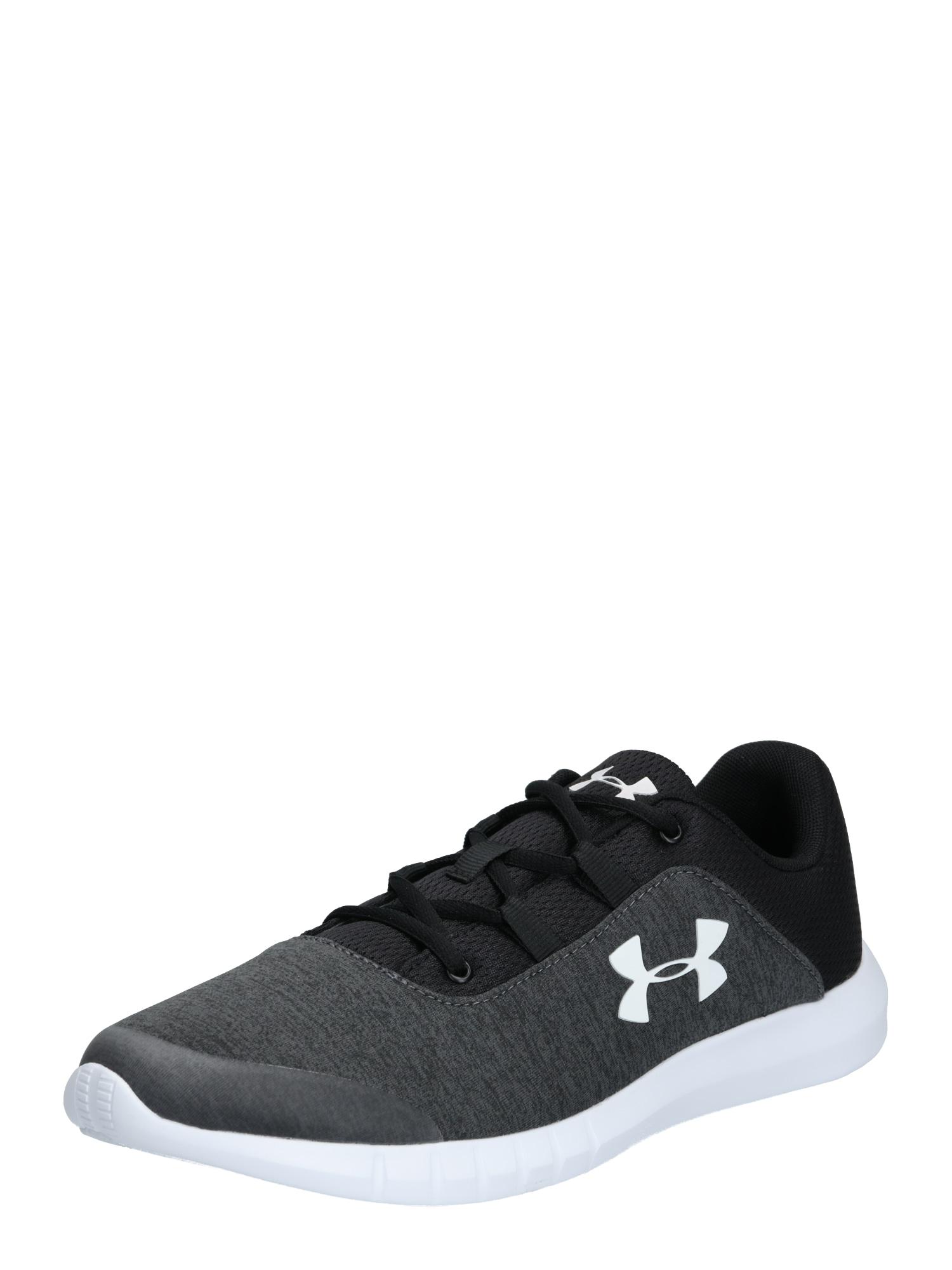 UNDER ARMOUR Sportiniai batai 'Mojo' balta / juoda