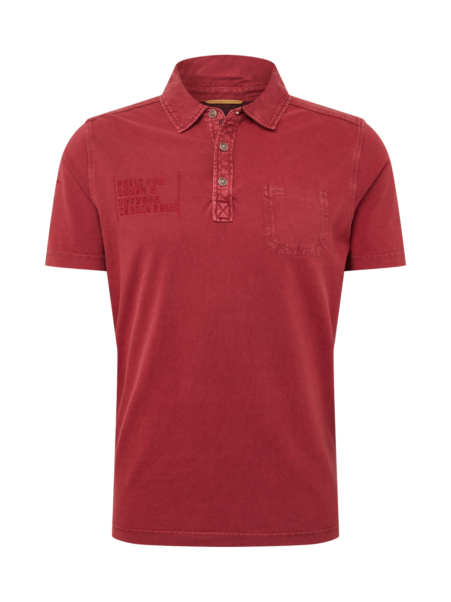Tričko rubínově červená CAMEL ACTIVE